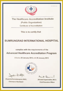 CERT HEALTHCARE ACCREDITATION INSTITUTE